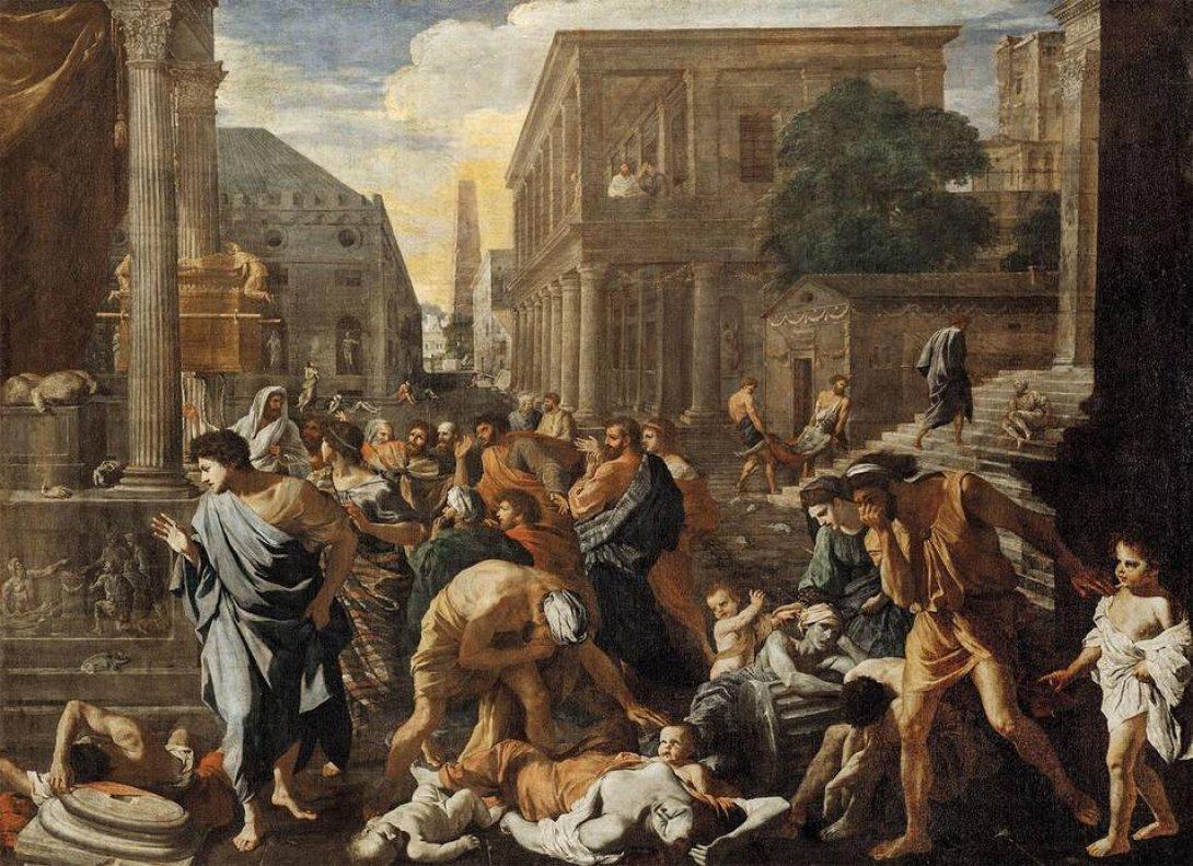 """La peste de Azoth"", de Nicolas Poussin"