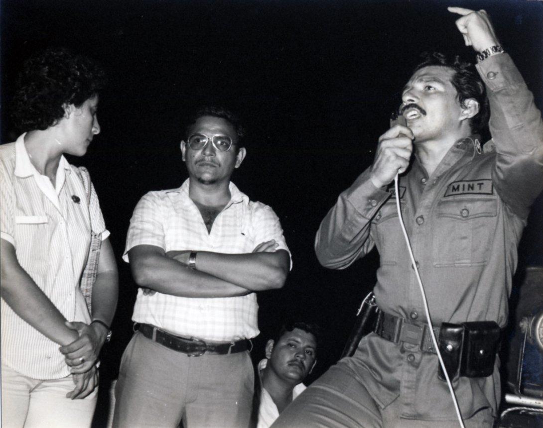 Comandante Lenín Cerna, Nicaragua.