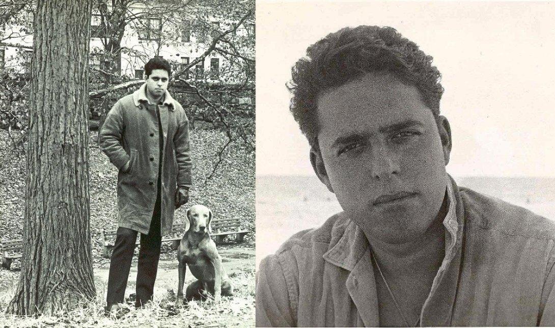 Andrés Pruna en 1959 y 1965.
