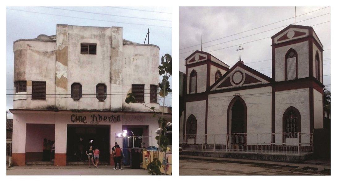 El cine y la iglesia de Zulueta