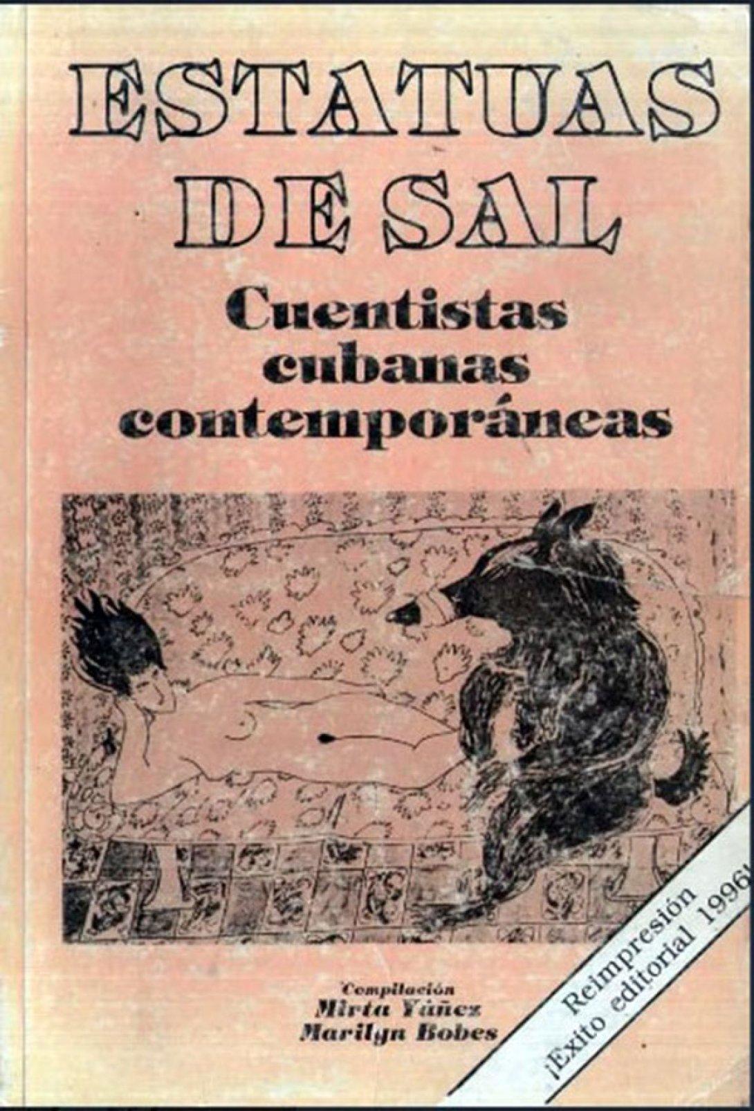 Portada de la antología Estatuas de sal. Cuentistas cubanas contemporáneas