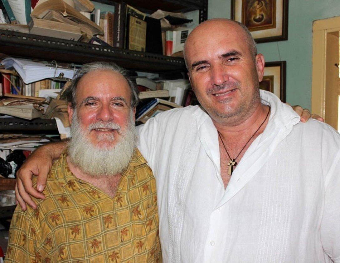 Rafael Almanza y Francis Sánchez