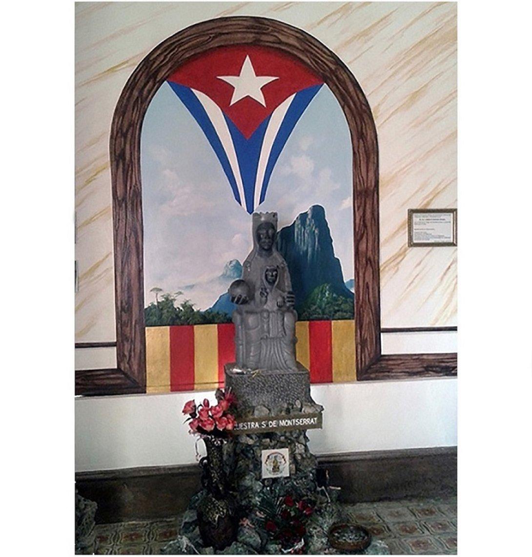 Virgen de Monserrat en la Ermita de Monserrat, Alturas de Simpson, Matanzas, Cuba