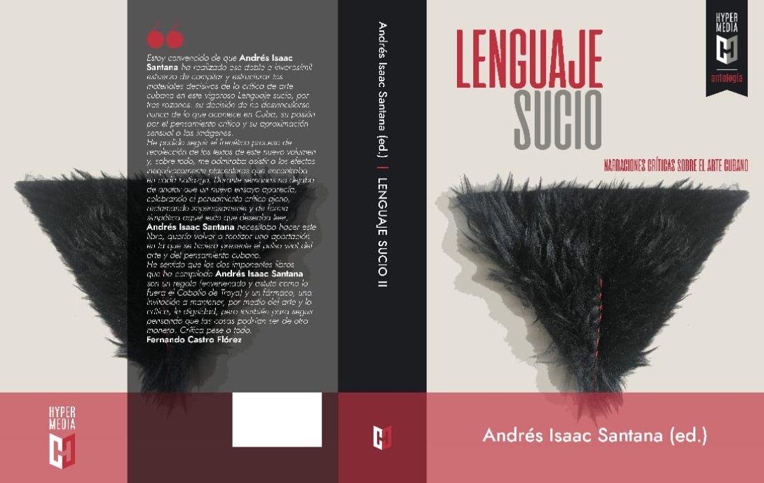 Portada de la antología Lenguaje Sucio