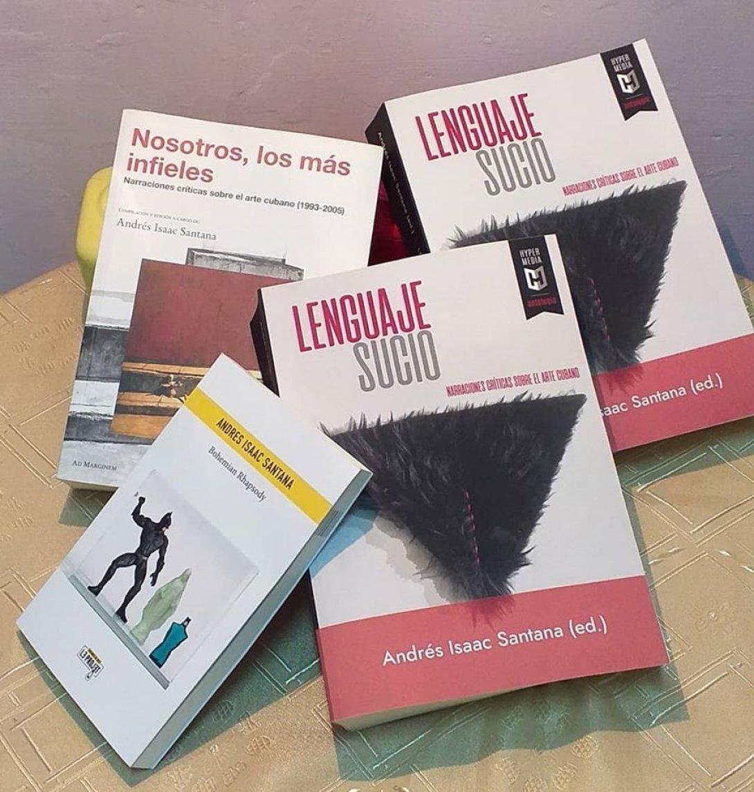 Varias antologías de Andres Isaac Santana