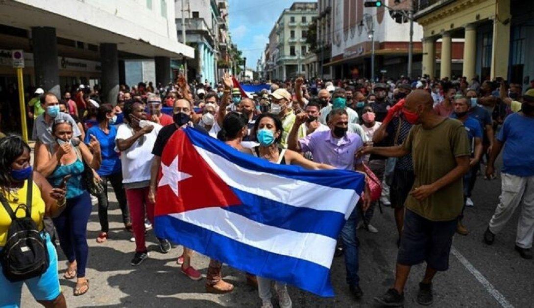 Protestas en Cuba. 11 de julio 2021. Camagüey
