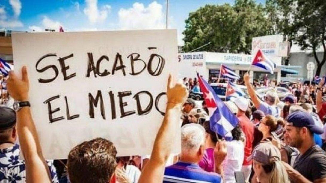 Protestas en Cuba. 11 de julio 2021