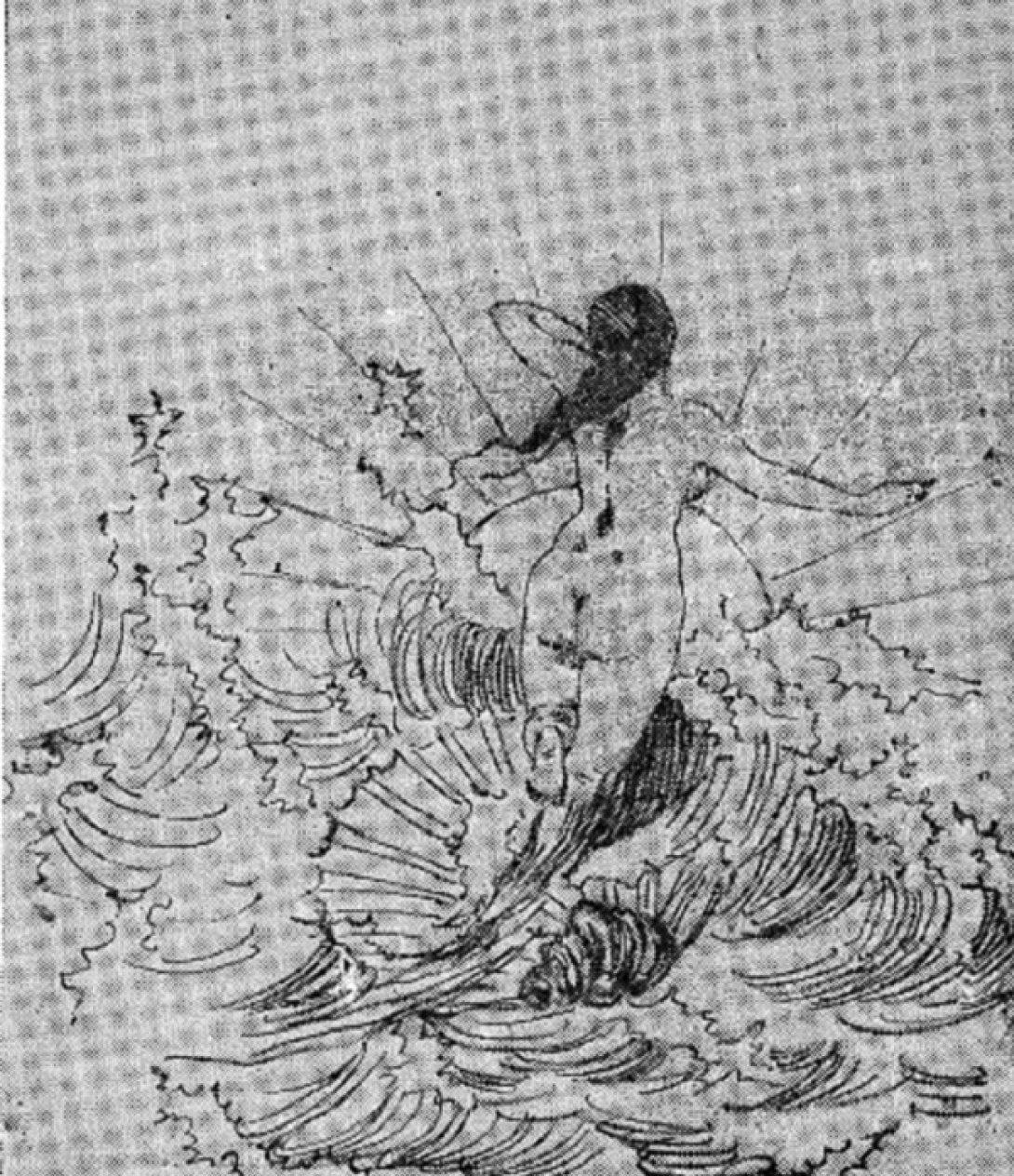Venus dibujada por Juana Borrero