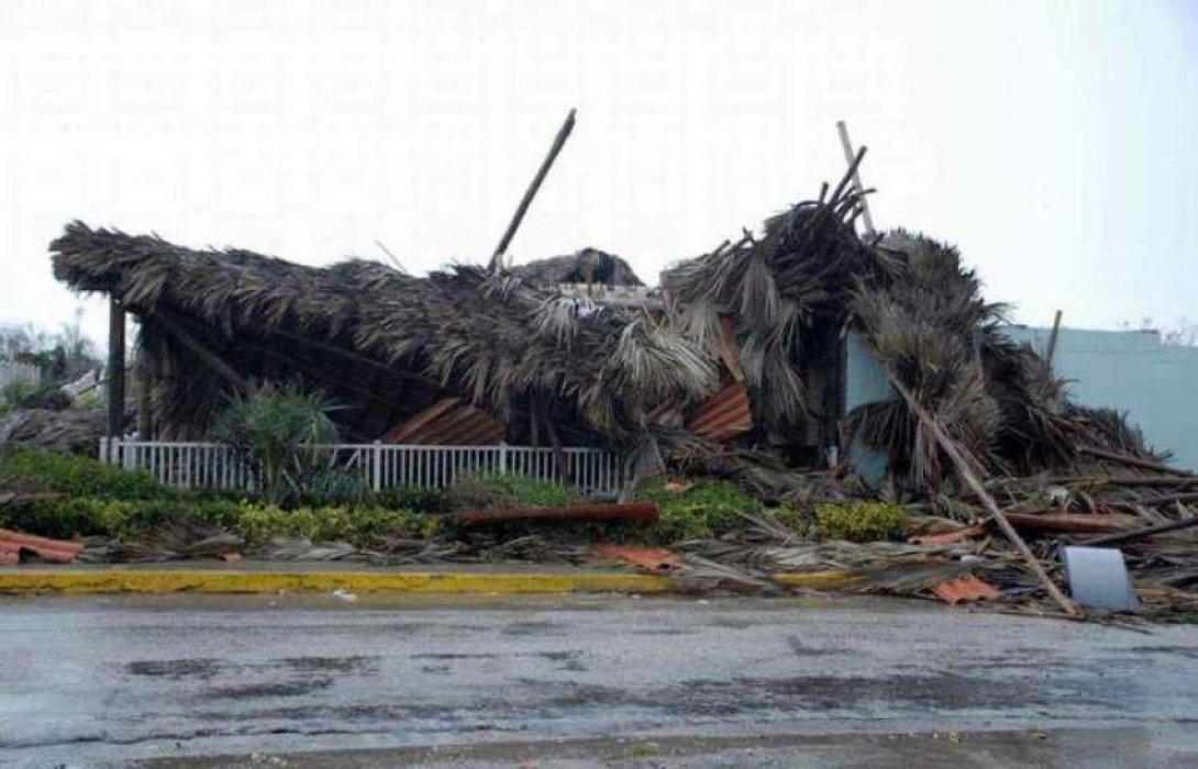 Estragos del huracán Irma en Cuba