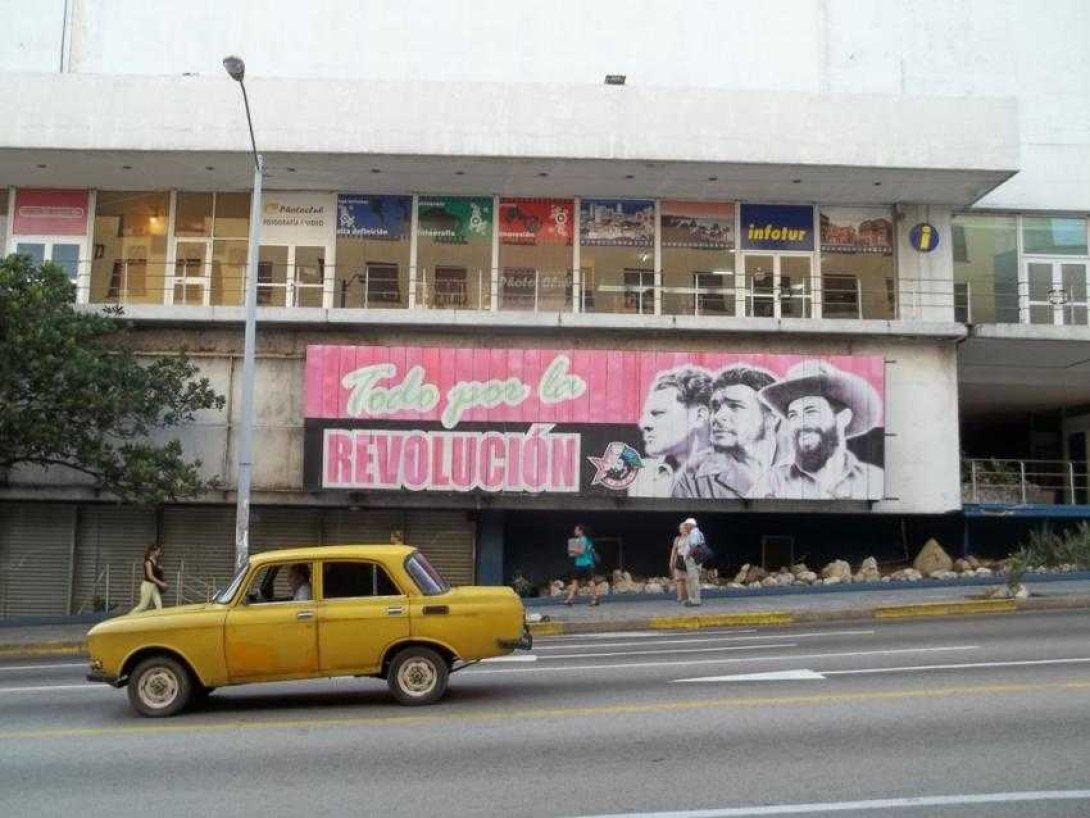 Cartel Habana revolución Che Camilio Mella