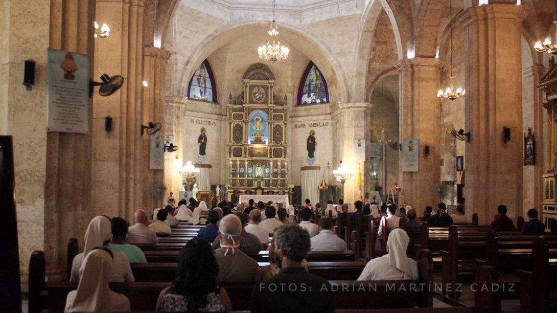 Iglesia basílica de la caridad Habana
