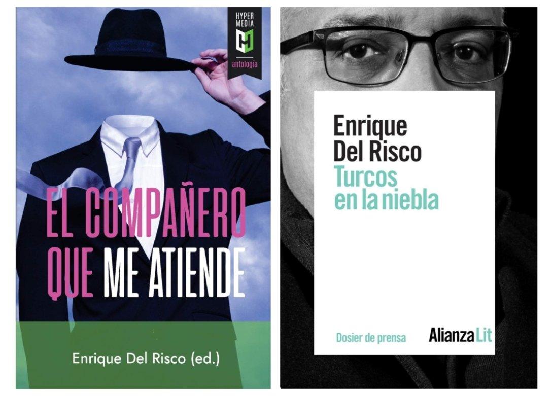 Dos libros de Enrique del Risco.