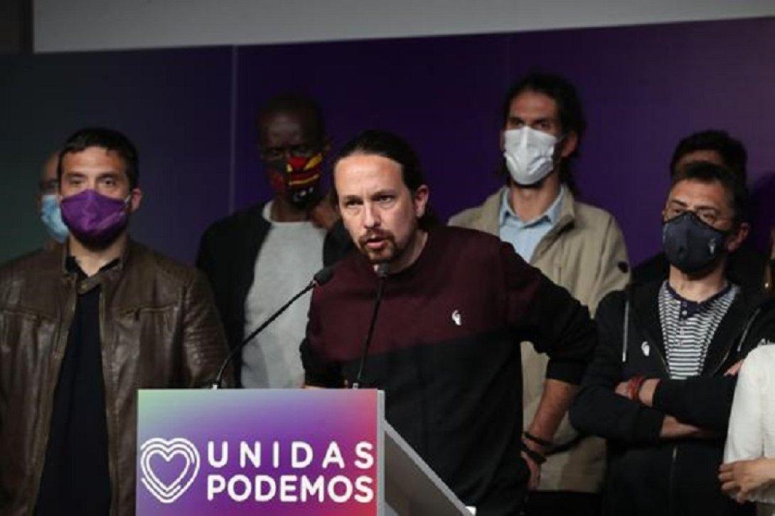 Pablo Iglesias y Podemos 4M