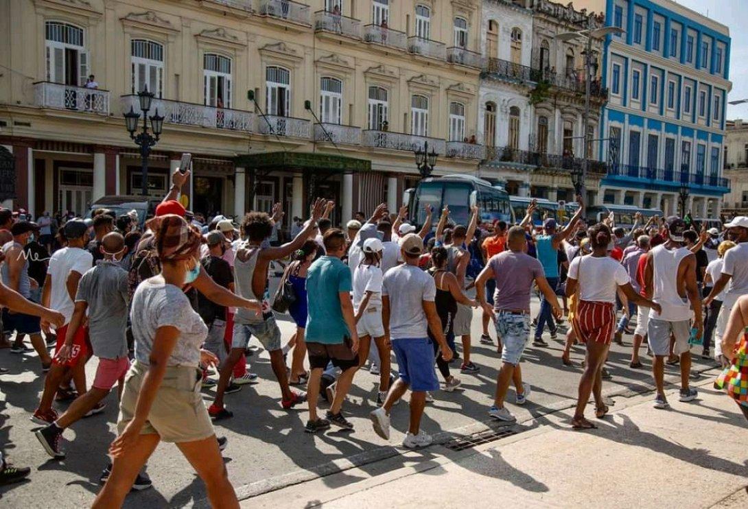 Protestas en Cuba el 11 de julio