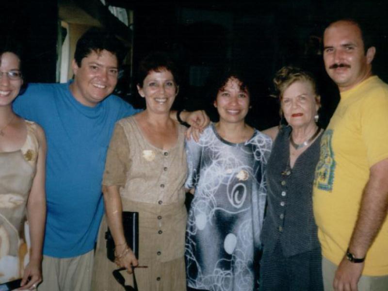 Poetas cubanos: Liudmila Quincoses, Otilio Carvajal, Carmen H. Peña, Ileana Álvarez, Carilda Oliver, Francis Sánchez