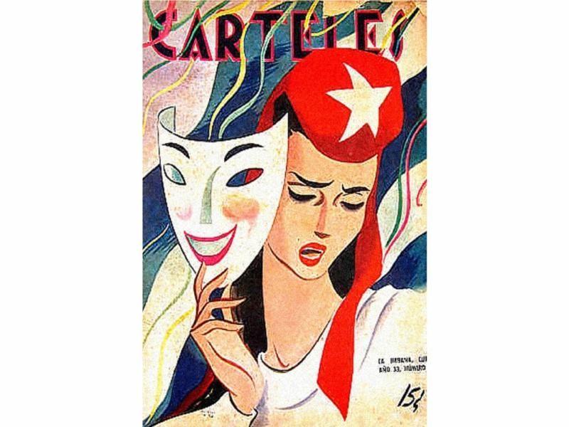 Revista Carteles, La Habana, 1943.