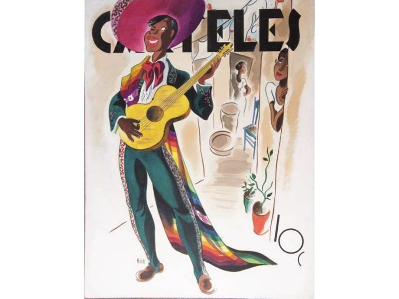 Revista Carteles, La Habana, 1944.