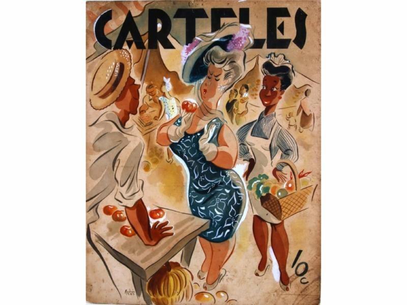 Revista Carteles, La Habana, 1945.