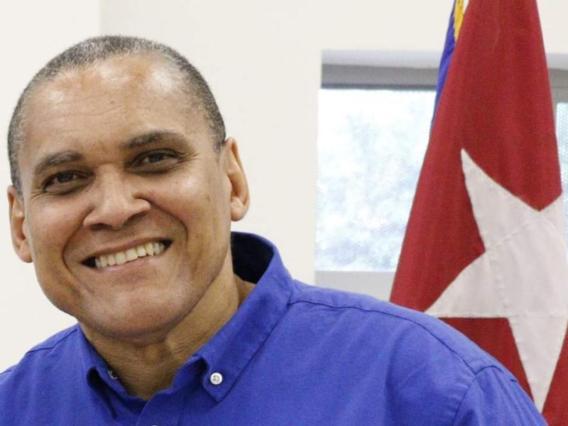 El escritor y periodista cubano Jorge Olivera.