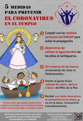 Medidas de la Iglesia para el coronavirus