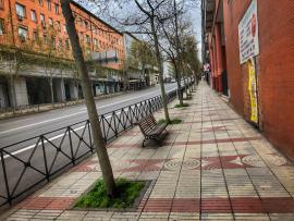 Calle Alcalá, Madrid.