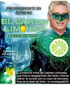 Díaz Canel, capitán limonada