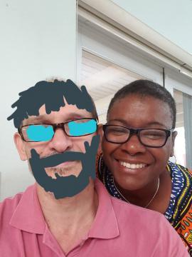 Siro Cuartel con Sandra