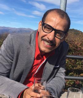 El escritor Miguel Ángel Fraga.