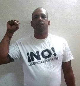 Mitzael Díaz Paseiro, actualmente preso político en Cuba.