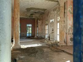 Ruinas de la casa del administrador del central Stewart